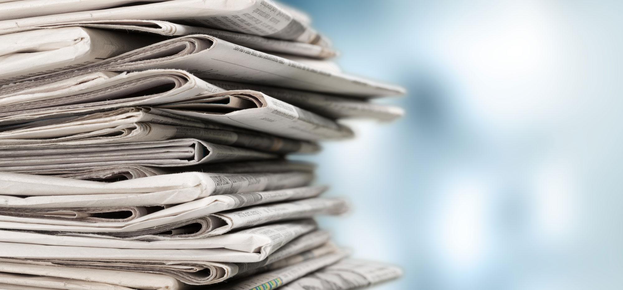 Zeitungen, Neuigkeiten aus der Region