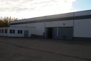 Gewerbehalle in Sontra