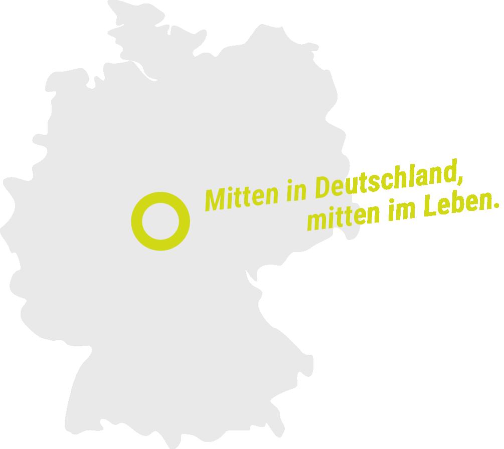 Mitten in Deutschland, mitten im Leben